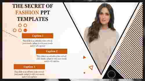 fashion ppt templates-The Secret Of FASHION PPT TEMPLATES